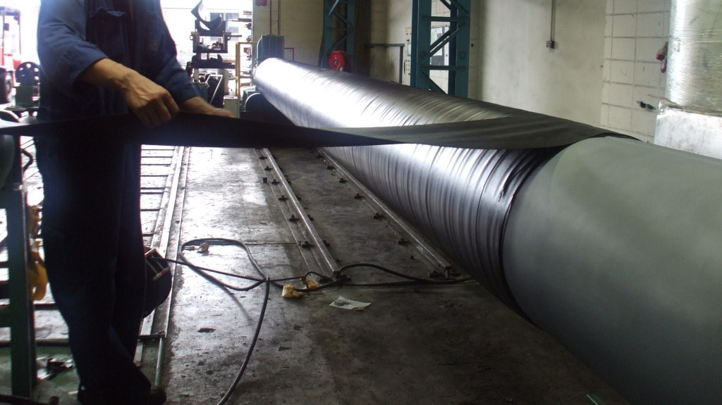 Passive Fire Protection For Riser Pipes Trelleborg