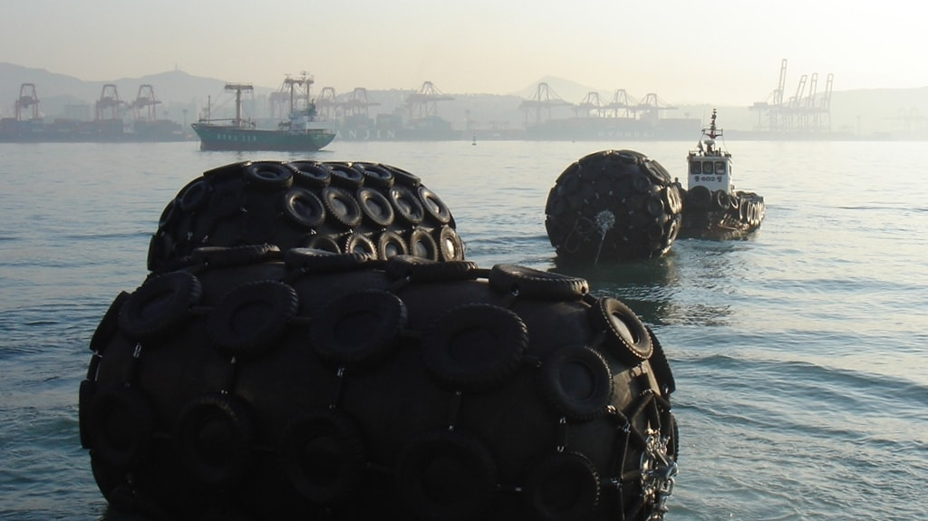 Pneumatic Fenders Trelleborg Marine Systems