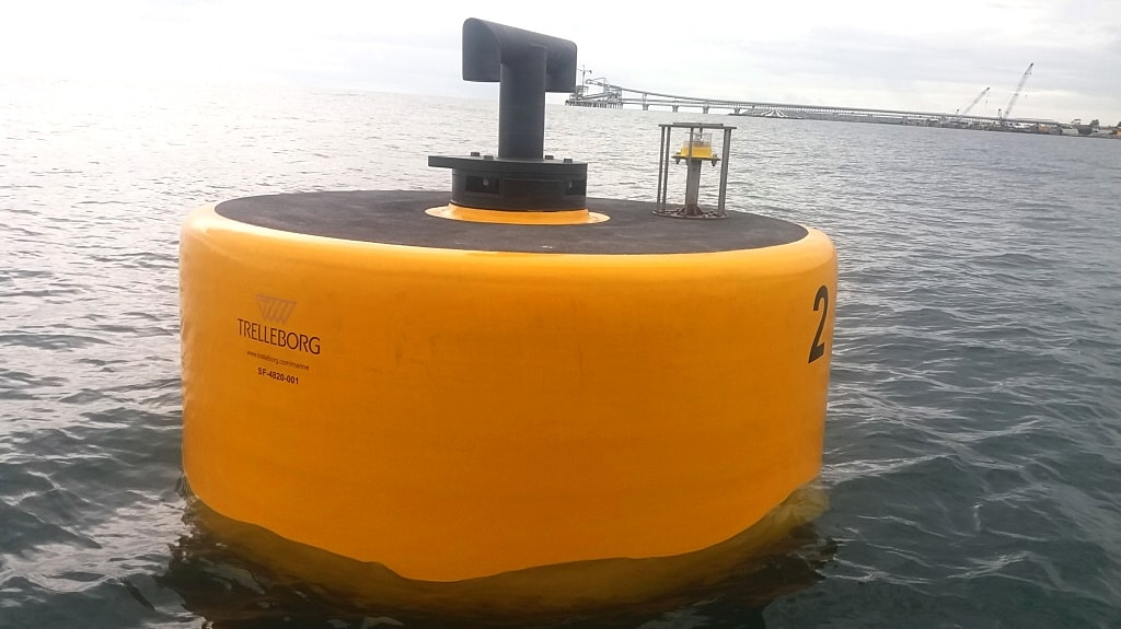 mooring buoys trelleborg marine systems