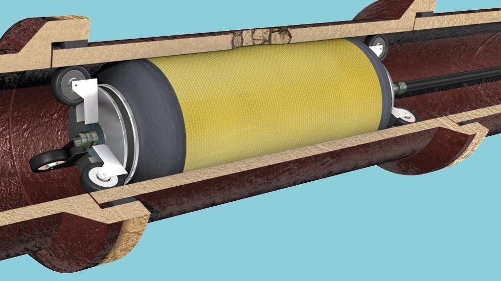 Ttelleborg S Drainpacker Method Sectional Repair Of