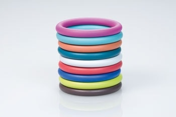 Colored coatings for O-Rings