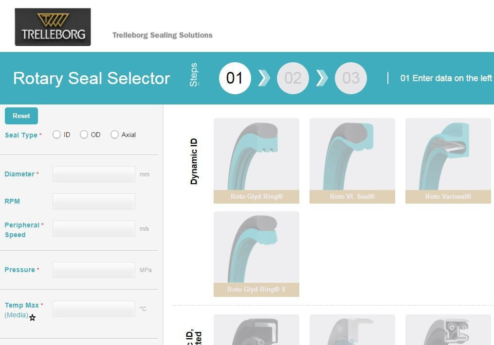 Rotary Seal Selector Web-Tool Now Available