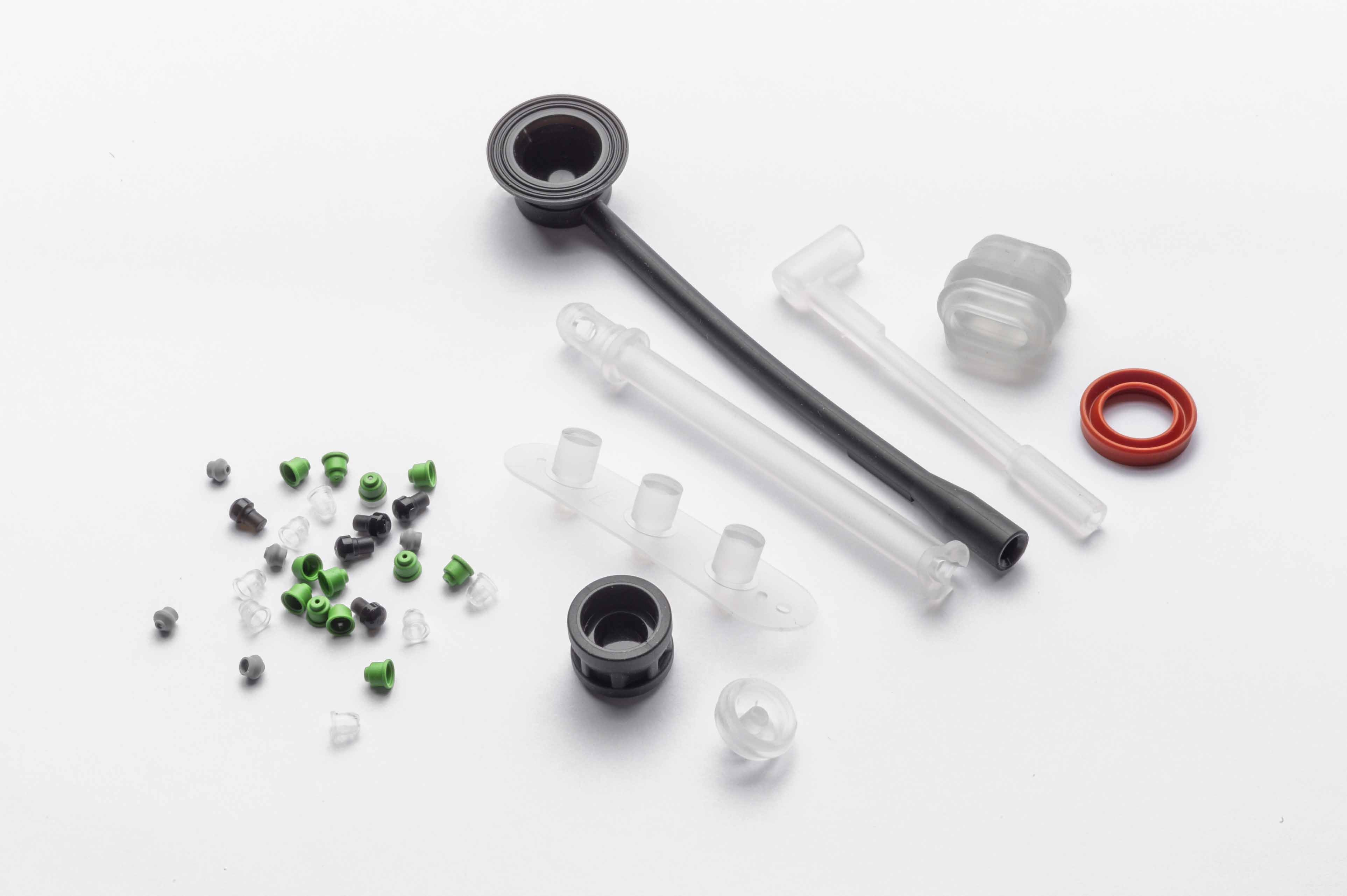 Liquid Silicone (LSR) Molded Parts