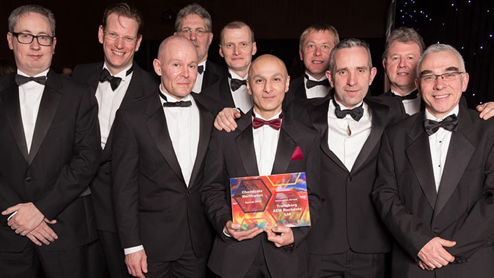 Trelleborg Takes Top Gong At Chemicals Northwest Awards