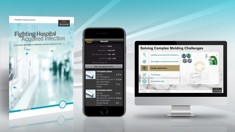 Trelleborg Medical Material Compatibility Check tool