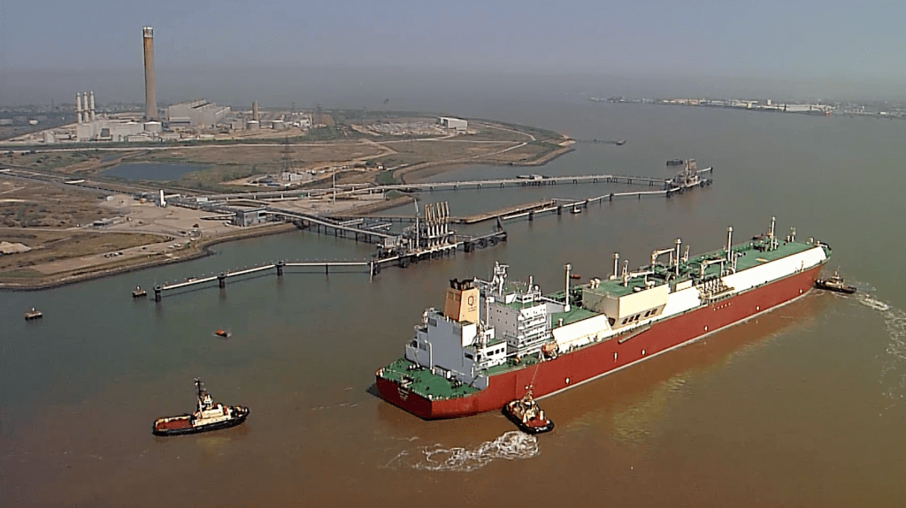 Isle of Grain, LNG Terminal