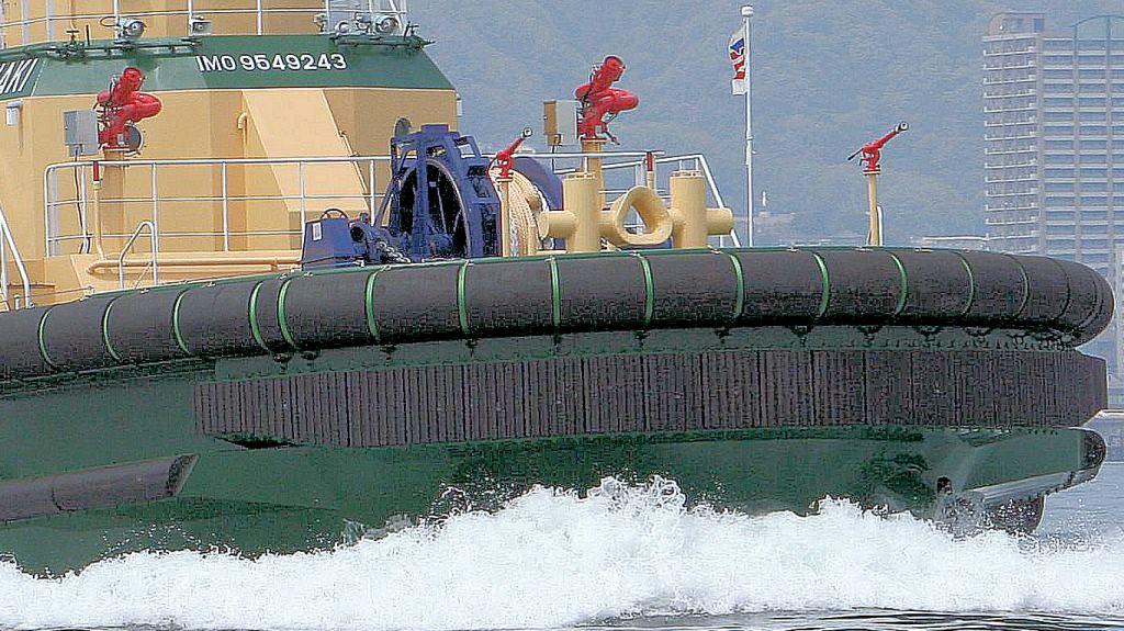 Tug Fenders - Trelleborg Marine and Infrastructure