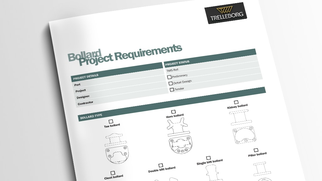 Project Requirements Forms - Trelleborg Marine and Infrastructure