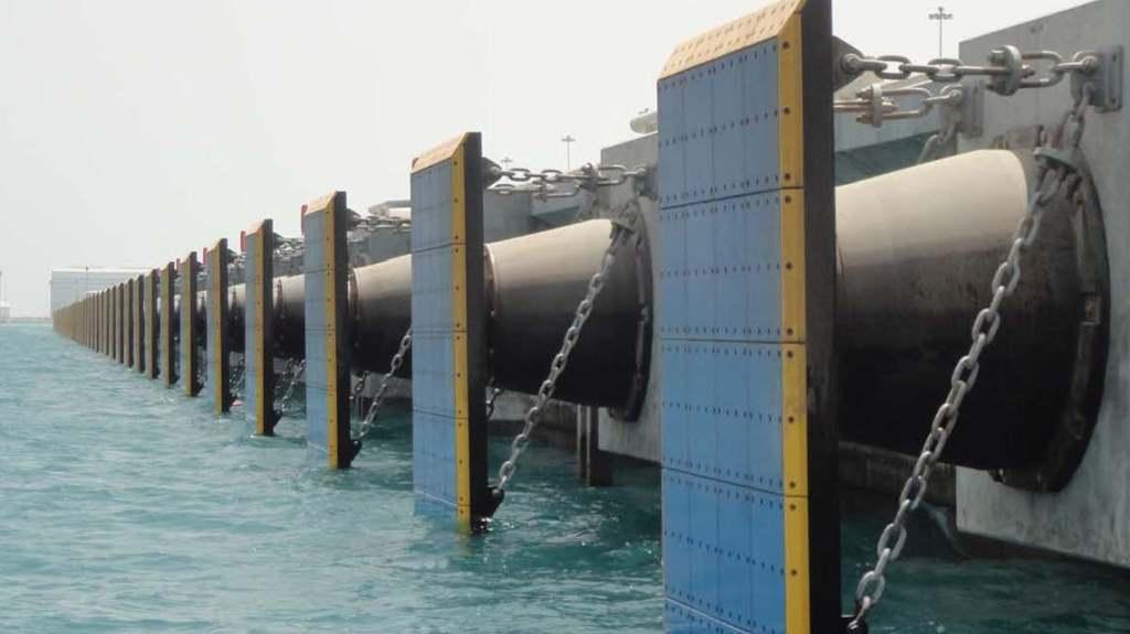 Rubber Fenders Trelleborg Marine Systems