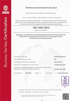 Trelleborg-Coated-Systems-Multisite-ISO 14001 2015 Multisite