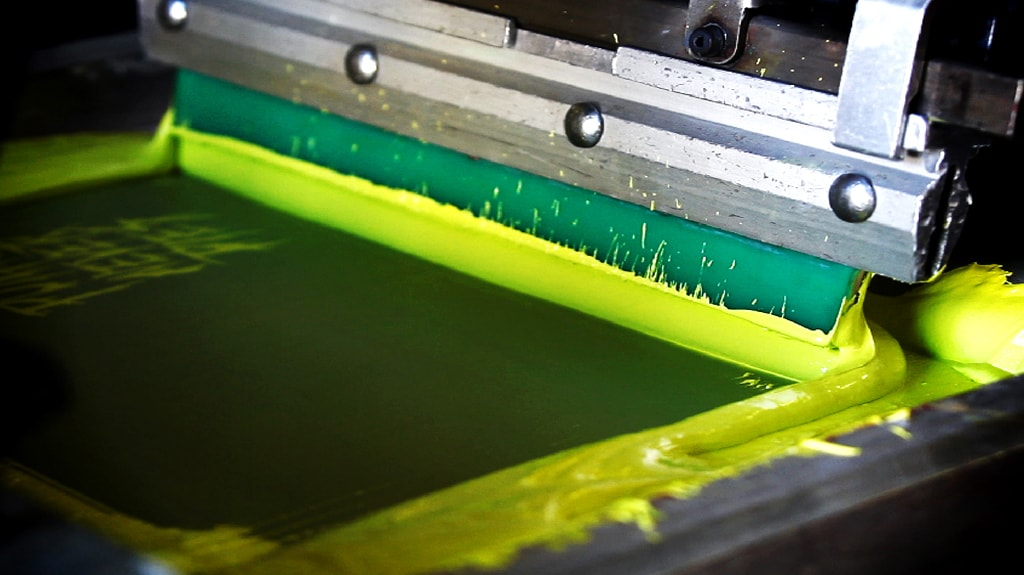 Trelleborg screen printing rolls Squeegees 1