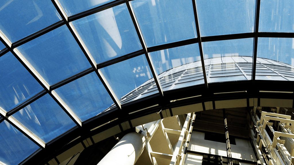 Skylight in commercial building