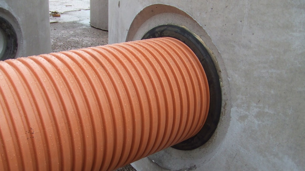 Corrugated pipes seals - Trelleborg