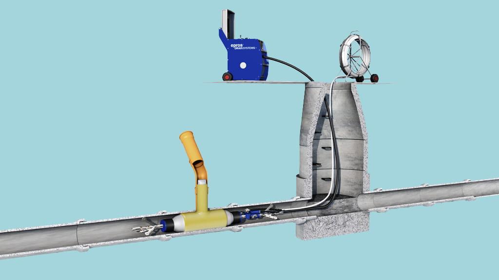 Trelleborg Lateral Pipe Repair In Main Sewers