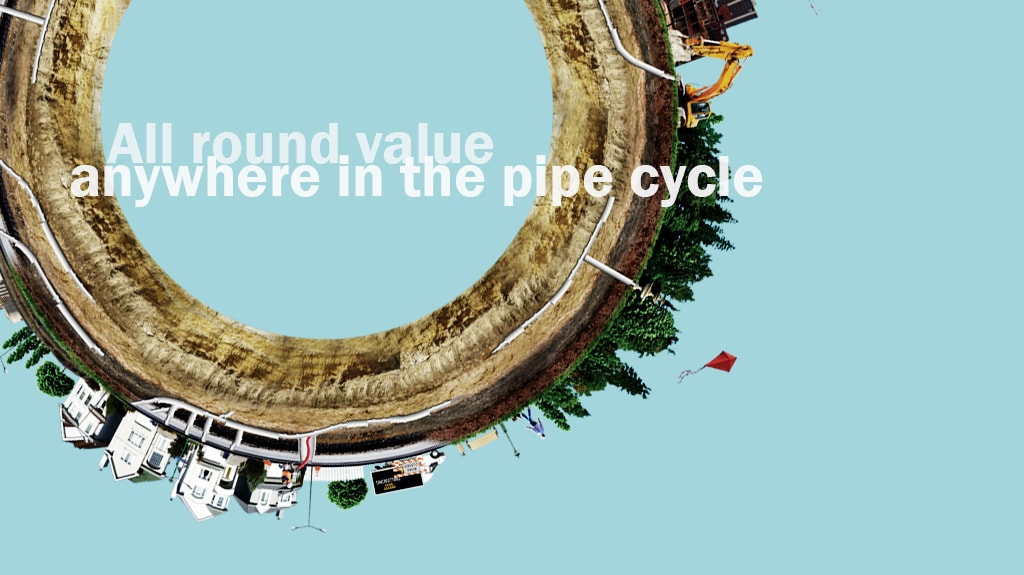 Pipe Cycle - All round value anywhere in the pipe cycle