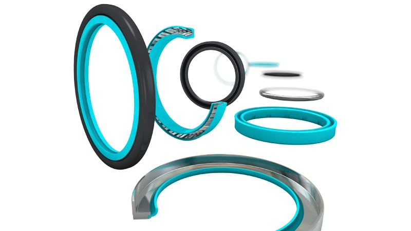 Food grade O-rings, Rotary Seals, Gaskets, Scrapers for the Food & Beverage industry by Trelleborg