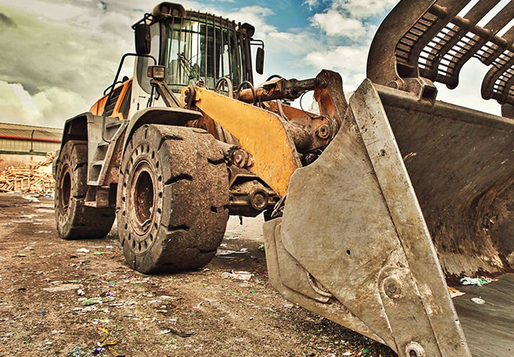 Trelleborg Construction Waste And Recycling Wheel Loader