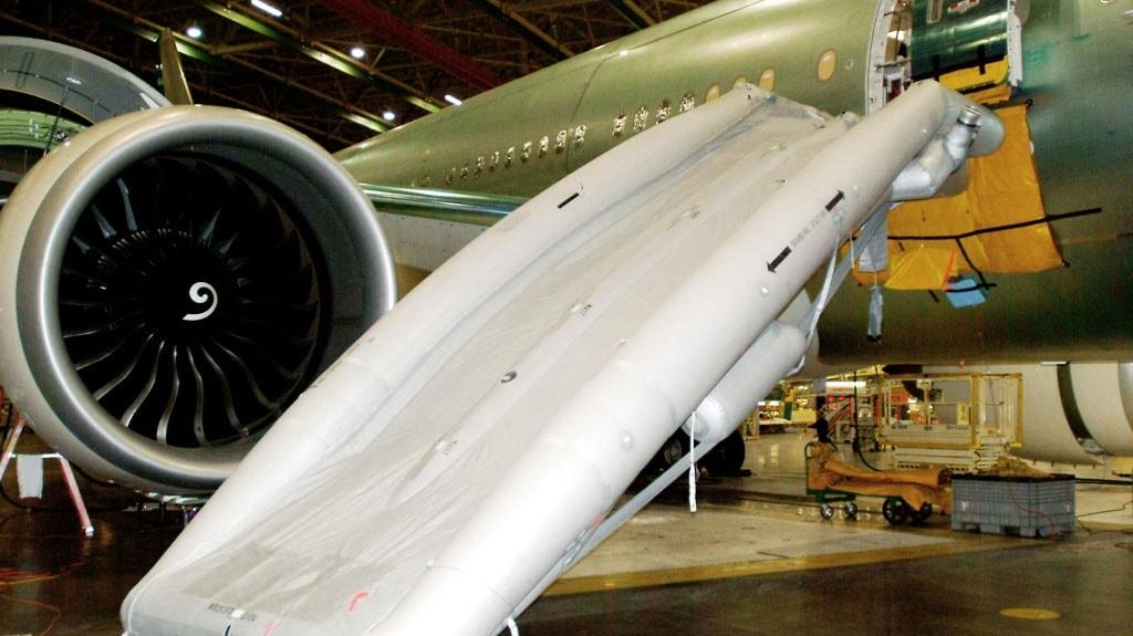 Aircraft Evacuation Slides